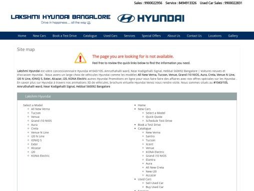Hyundai New Verna virtual brochure from Lakshmi Hyundai, Bangalore