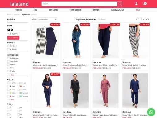 Branded Nightwear Dresses for Women