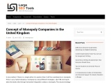 Concept of Monopoly Companies in the United Kingdom