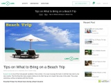 Tips On What To Bring On A Beach Trip