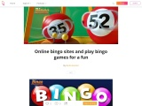 Online bingo sites and play bingo games for a fun