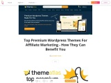 Top Premium WordPress Themes For Affiliate Marketing – How They Can Benefit You