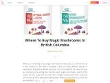 Where To Buy Magic Mushrooms In British Columbia