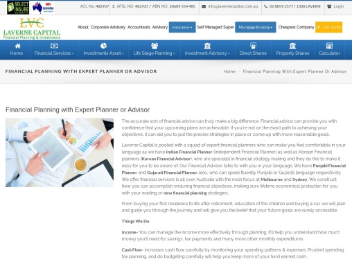La Verne Capital – New Financial Planning with Expert Planner or Advisor