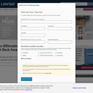 Casino Billionaire Appeals $54.6M Bartlit Beck Award Decision - Law360