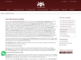 Law Dissertation Help We guarantee you the distinction