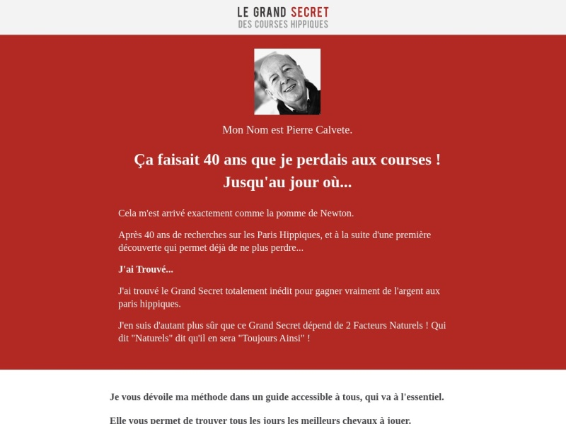 turf:  10 000 simple, 25 000 couples et gagnant!