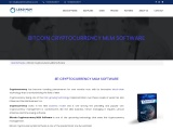Cryptocurrency MLM Software – LEAD MLM SOFTWARE
