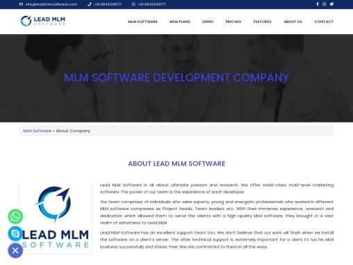 MLM Software Development Company – LEAD MLM SOFTWARE