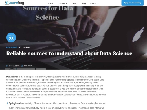 RELIABLE DATA SCIENCE RESOURCES TO UNDERSTAND THE SUBJECT FROM SCRATCH