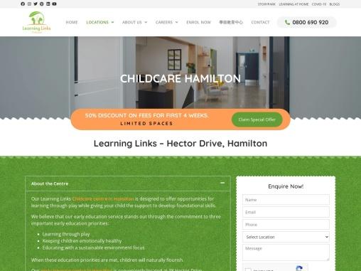 Daycare Hamilton, Childcare Hamilton, Early education Hamilton