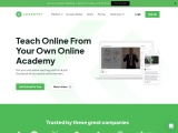 Teach online from your own website and mobile app