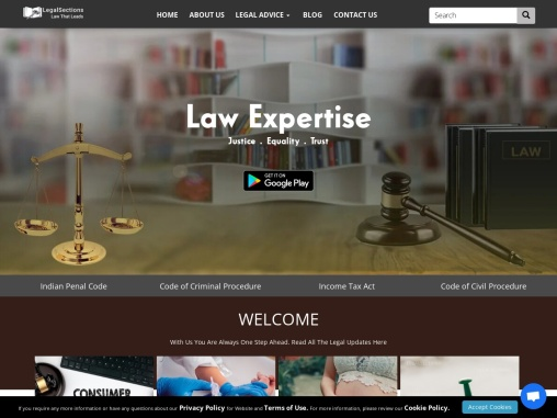 Online Legal Advice | LegalSections