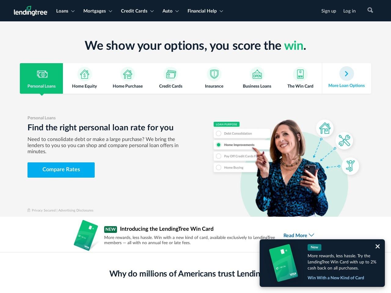 Get Your Free Credit Score   LendingTree