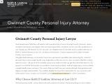 Car Accident Lawyer in Gwinnett County