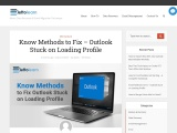 How to Fix Outlook Profile Stuck