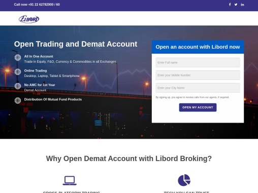 Open Demat Account with Libord Broking