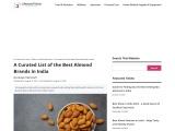 Best Almond Brands in India 2021