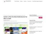 Best multivitamin for men in India