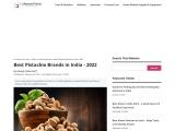 Best pistachio brand in India 2021