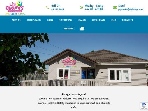 Daycare Centres Papatoetoe   Best Preschool – LilChamps