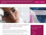 Analysen für Feststoffe, Wasser, Lebensmittel, Hygiene führt die neutrale Laborgruppe Limbach