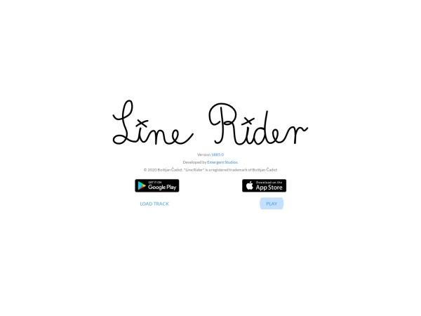 Line Rider  - 25+ Best Browser Games 2020 – You Should Play