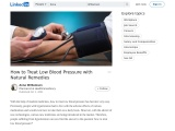 Medication to Treat Low Blood Pressure – Best Medications for Low Blood Pressure