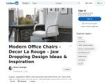 12 Most Popular Office Chair – Decor La rouge – Interior Design Agency