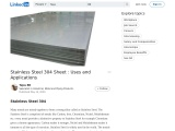 Stainless Steel 304 Sheet : Uses and Applications