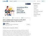 WHY CONNAUGHT PLACE IS THE BEST COWORKING SPACE FOR WORK ?