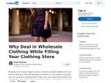 Womens Wholesale Clothing Uk – The Best Wholesale Ladies Clothing Uk Sets