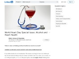World Heart Day Special Issue: Alcohol and Heart Health
