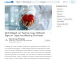 World Heart Day Special Issue Different Types of Diseases Affecting The Heart