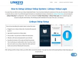 Method to Login to Linksys Velop web interface