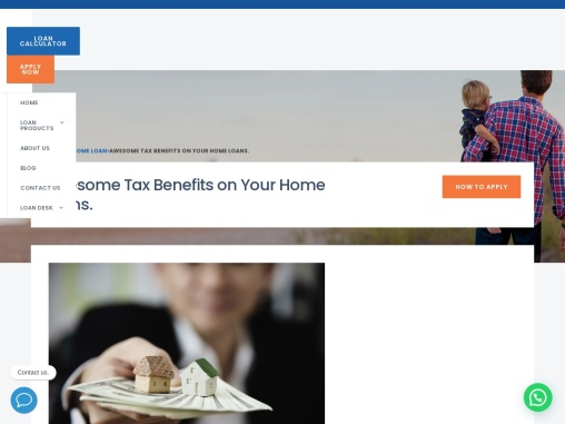 Awesome Tax Benefits on Your Home Loans.