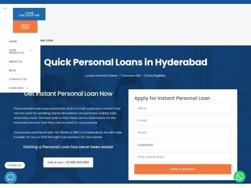 Apply for Instant Personal Loan Online In India at Low Interest Rates – Loanzzones