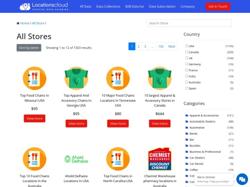 Complete List Of Dd's DISCOUNTS USA Locations