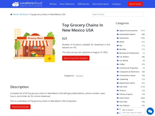 Top Grocery Chains In New Mexico USA