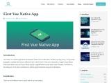 First Vue Native App | Logic Square Technologies