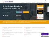 Grocery E-commerce Store Script   Online Supermarket Script