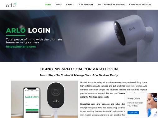 Arlo Netgear Login | Arlo Login | Login Arlo