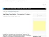 Verified Top Digital Marketing Company In London