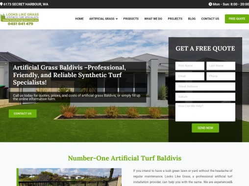 Make sure that you get our best artificial grass Baldivis installed