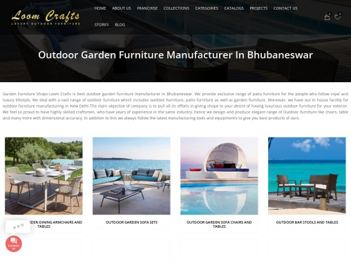 Outdoor Garden Furniture Manufacturer In Pune