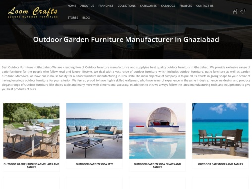 Outdoor Furniture in Ghaziabad