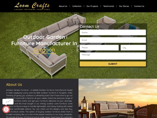 Outdoor Garden Furniture Franchise, Gurgaon