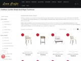Braid and Rope Furniture