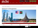 Online Bank Transfer to Bangladesh from Malaysia