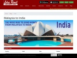 Transfer Money Online from Malaysia to India